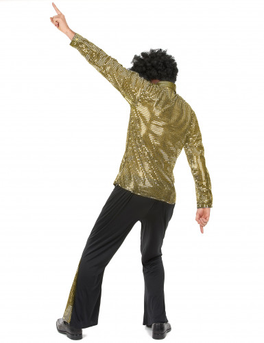Goldenes Disko Kostüm-2