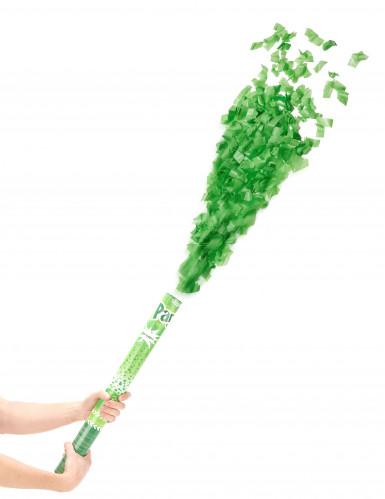 Konfetti-Kanone grün 60cm