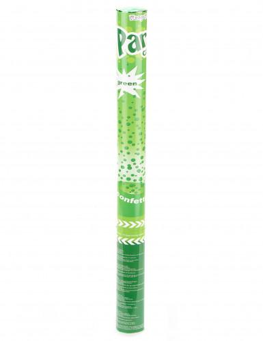 Konfetti-Kanone grün 60cm-1