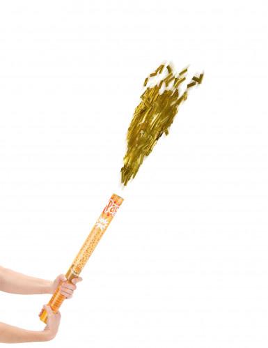 Goldene Konfettikanone