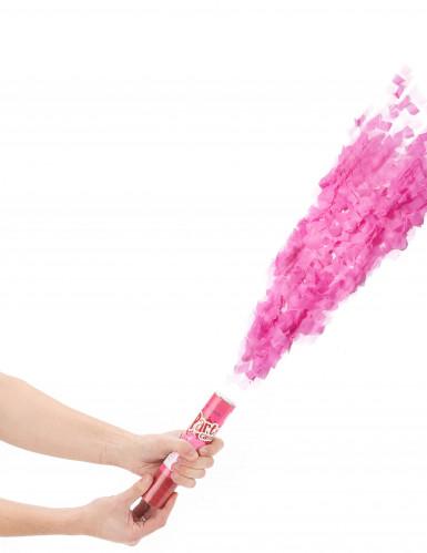Konfettikanone rosa