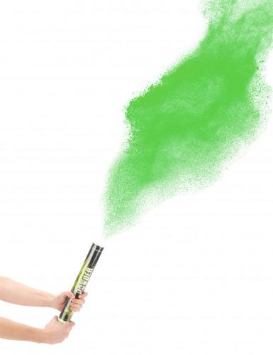 Grüne Puder Kanone