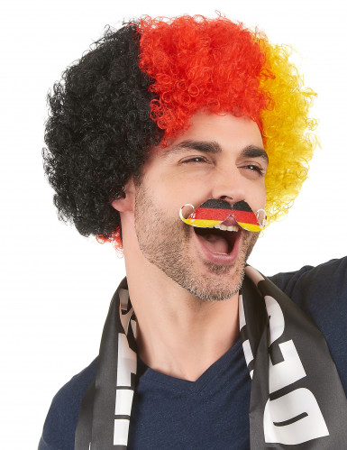 Fan-Schnurrbart Deutschland