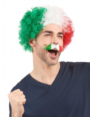 Italienischer Fan Schurrbart für Erwachsene