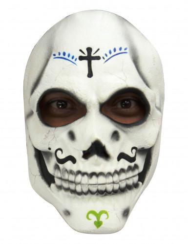 Skelette Maske Dìa de los muertos für Erwachsene - Hand bemalt