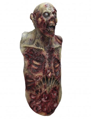 Große Zombie Maske Hand bemalt