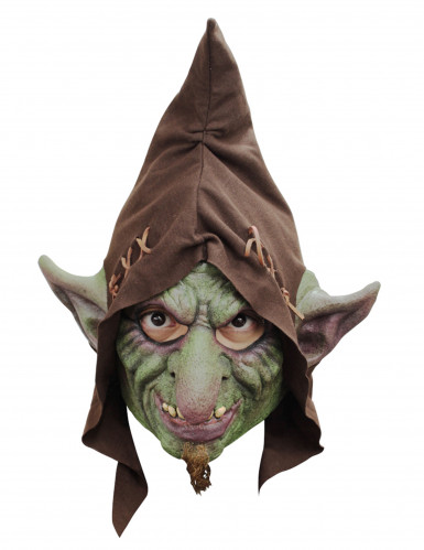 Halloween Maske Goblin - handbemalt