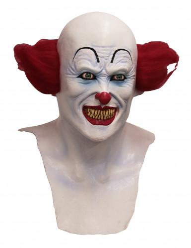 Böser Clown Halloween Maske - Handbemalt