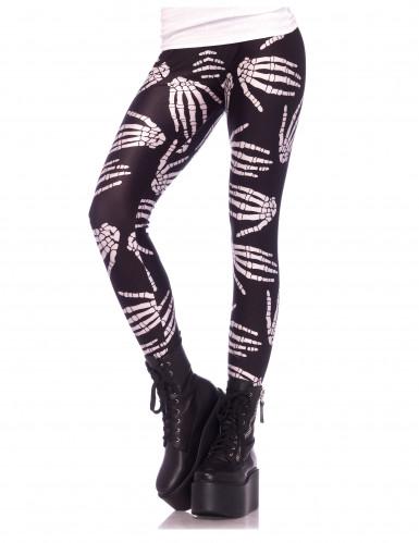 Skelett-Leggings - Halloween