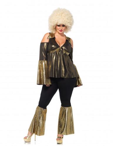 Disco Diva Kostüm für Damen-1