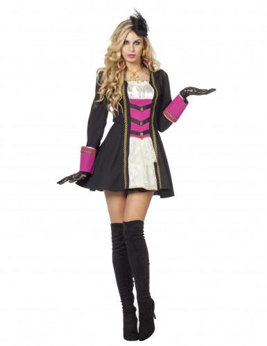Sexy Piraten-Kostüm für Damen