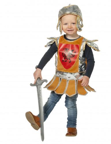 Ritterkostüm in orange für Kinder