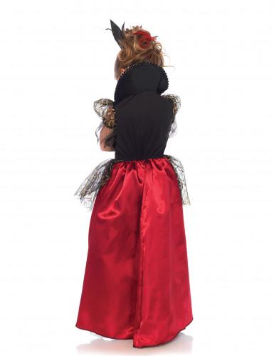 Böse Königin Kostüm für Mädchen-1