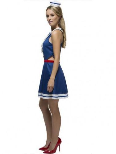 Sexy Matrosin Kostüm für Damen-1