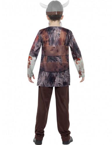 Zombie Wikinger Kostüm für Kinder Halloween -1