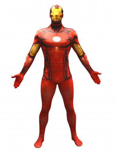 Iron Man™ Morphsuit™ Kostüm für Erwachsene