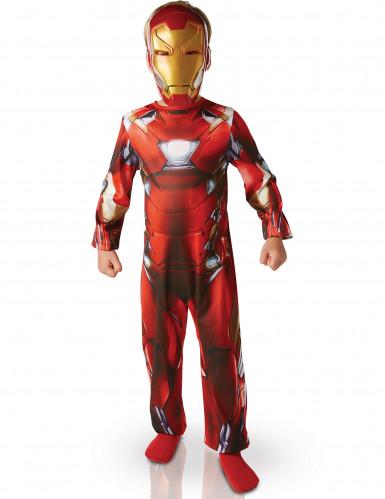 Iron Man Kinder Kostüm 122/128 (7-8 Jahre) 510XE323