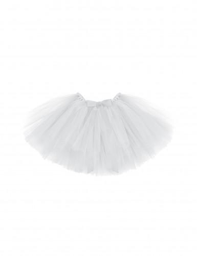 Weißes Ballettröckchen für Mädchen