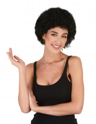 Afro-Perücke Clown schwarz für Erwachsene