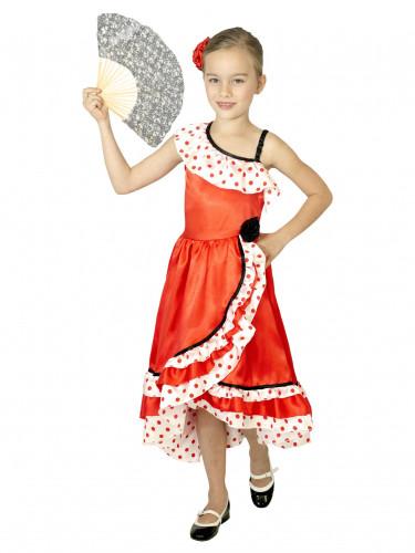 Flamenco Tänzerkostüm für Mädchen