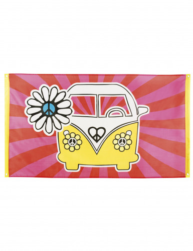 Hippie Banner - VW-Bus
