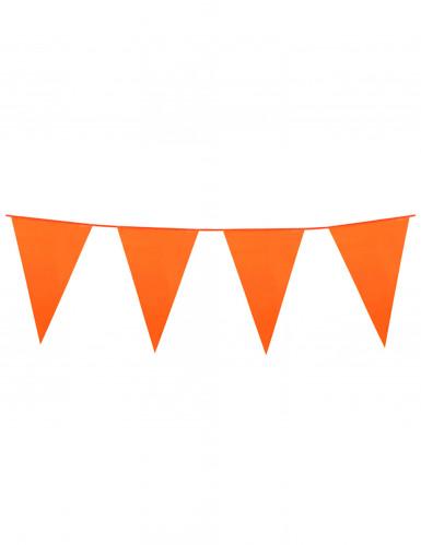 Wimpel-Girlande - orange