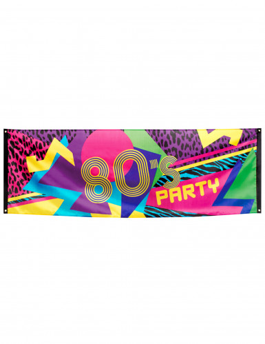 Banner - 80's Party