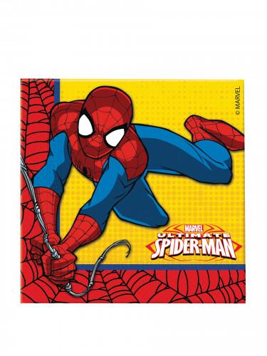 20 Papierservietten Ultimate Spiderman Power™