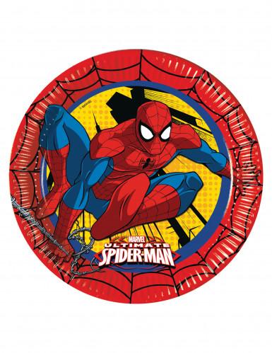 8 Ultimate Spiderman™ Pappteller