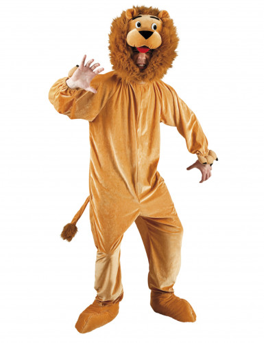 Maskottchen Kostüm Löwe