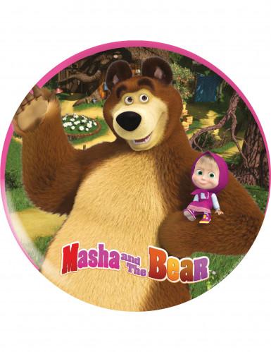 Teller aus Melamin - Mascha und der Bär™