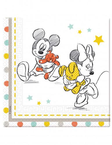 20 Papierservietten Baby Shower Disney Baby™