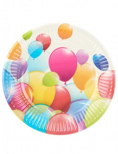 10 kleine Teller - Luftballons