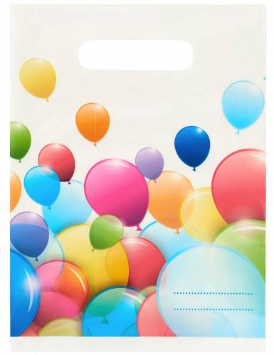 6 Geburtstagstüten - Luftballons
