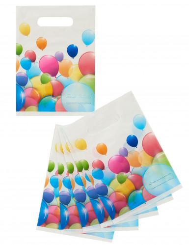 6 Geburtstagstüten - Luftballons-1