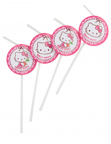 6 Hello Kitty™ Strohhälme