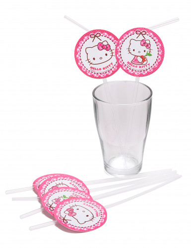 6 Hello Kitty™ Strohhälme-1