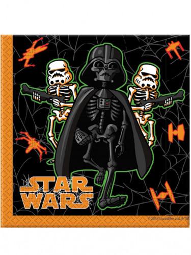 20 Papierservietten Halloween Star Wars™