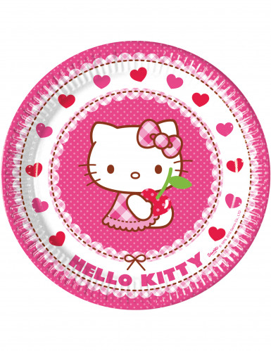 8 Pappteller Hello Kitty™