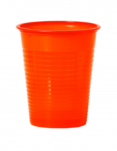 50 orange Becher