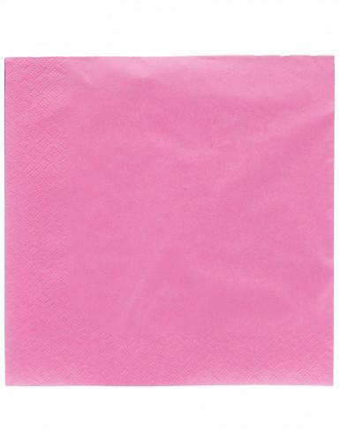 50 lila Papier Servietten