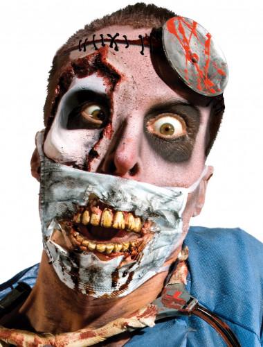 Chirurgen Zombie Mund schutz für Erwachsene - Halloween