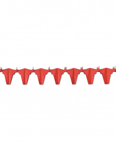 Girlande - Roter Stier