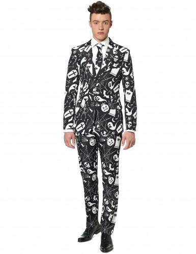 Schwarz Weißer Suitmeister™ anzug für Herren Halloween