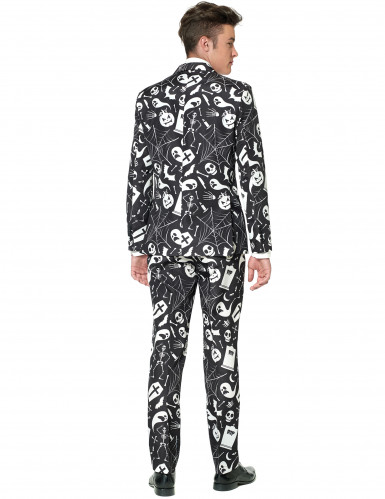 Schwarz Weißer Suitmeister™ anzug für Herren Halloween-1
