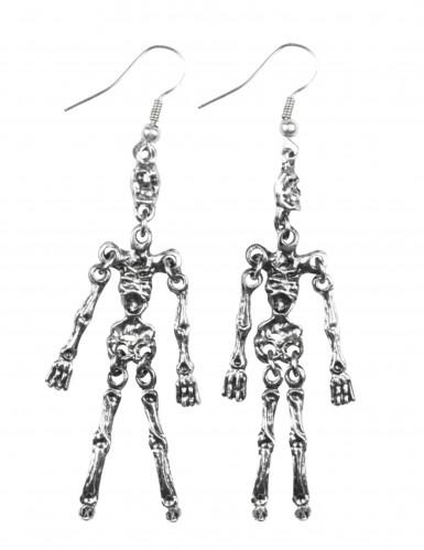 Tanzende Skelett-Ohrringe-1