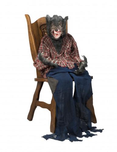 halloween dekoration werwolf zum aufh ngen 150 cm. Black Bedroom Furniture Sets. Home Design Ideas