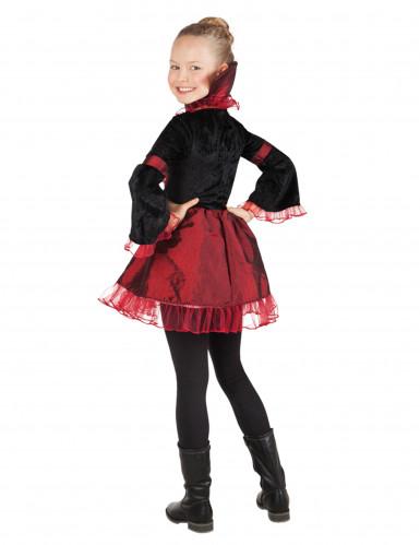 Edles Vampir Kostüm für Mädchen-1