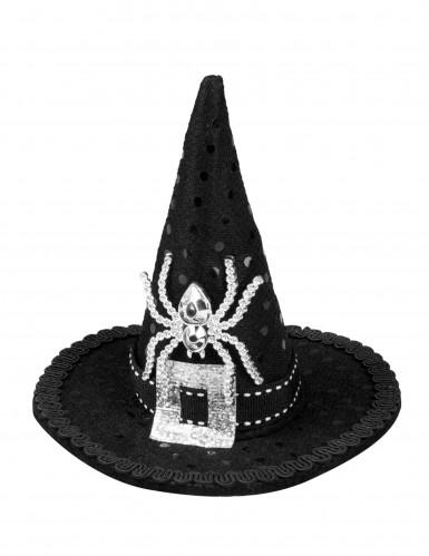 Halloween Mini-Hexenhut für Damen-1