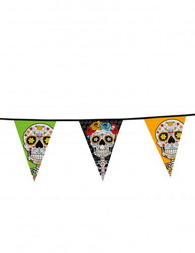 Wimpelgirlande Dia de los Muertos, 10 m